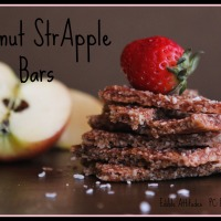 Coconut StrApple Bars