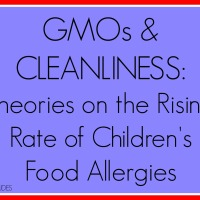 GMOs & Cleanliness: Theories on the Rising Rate of Children's Food Allergies